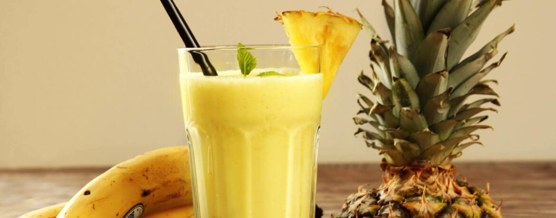 Ananas-Bananen-Cocktail