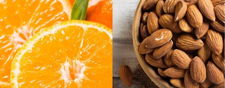 Orange + Mandeln