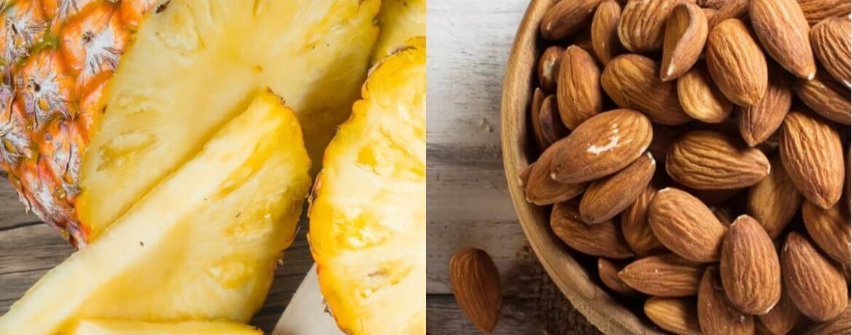 Ananas + Mandeln