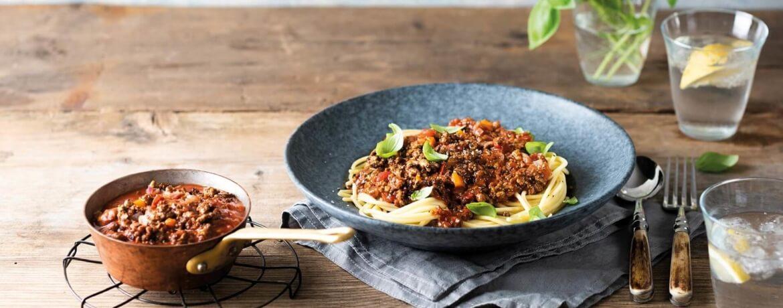 Spaghetti mit Next Level Bolognese