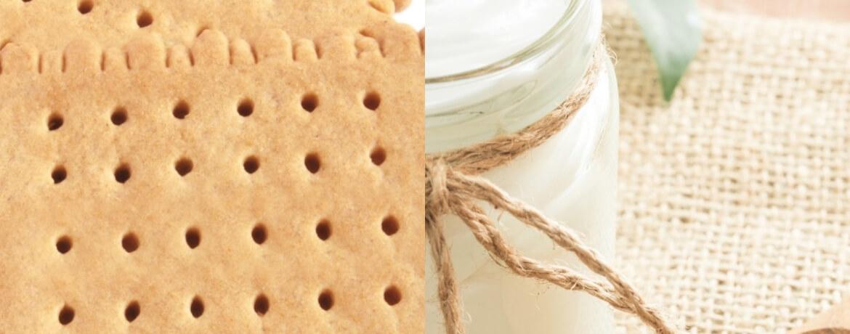 Butterkekse + Naturjoghurt