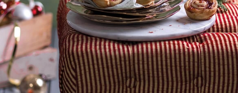 Cruffins-Croissant-Muffins mit Himbeerfüllung