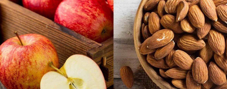 Apfel + Mandeln