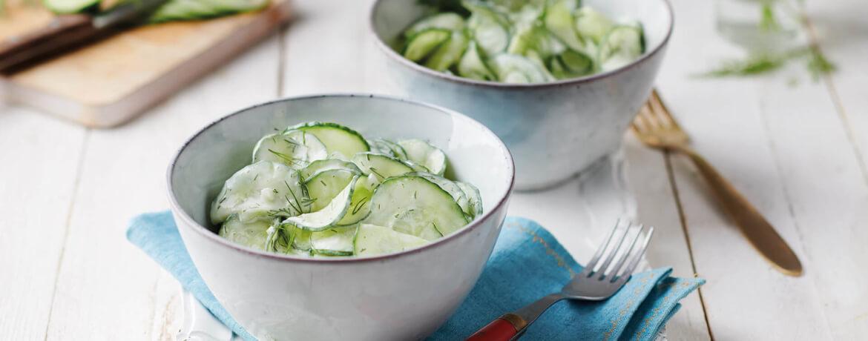 schnell amp einfach klassischer gurkensalat lidl kochen