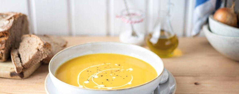 Kürbis-Ingwer-Suppe