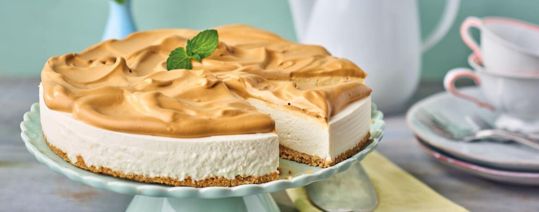 Dalgona Cheesecake
