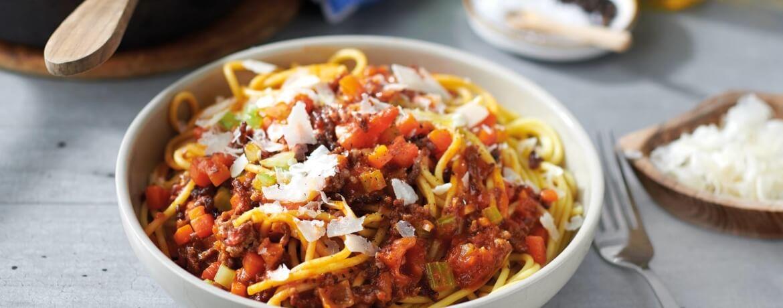 Klassische Spaghetti Bolognese