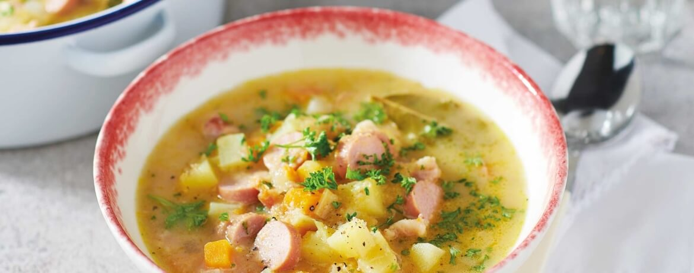 Klassische Kartoffelsuppe