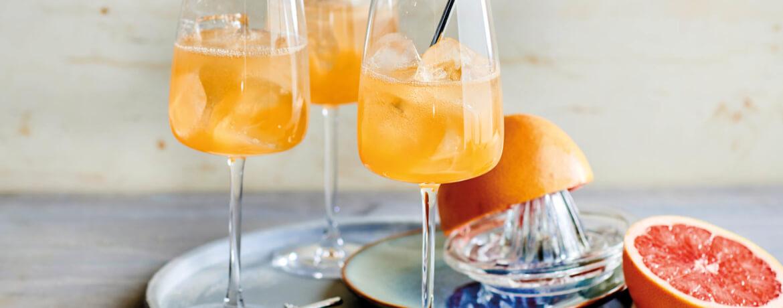 Grapefruit-Gin-Cocktail