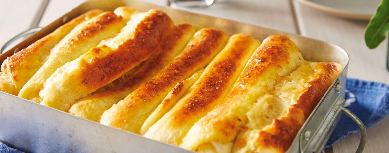 Penjurlije – süßes Hefeteig-Käse-Gebäck