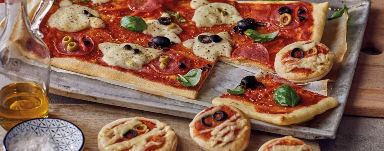 Monstermäßige Pizza