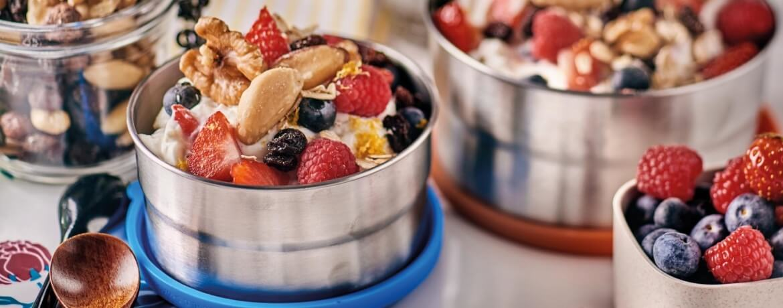 Frühstücksquarkspeise