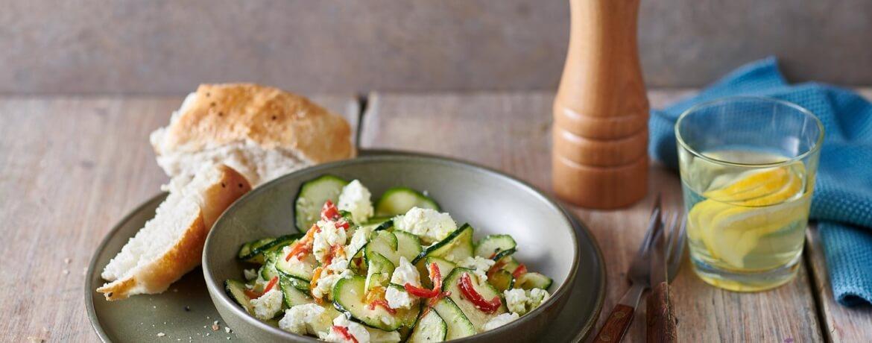 Marinierter Zucchini-Salat