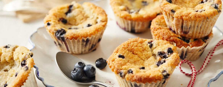 Vegane Heidelbeer-Muffins