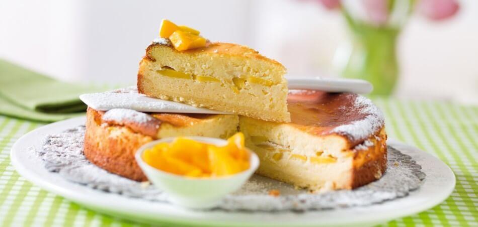 Mango-Käsekuchen