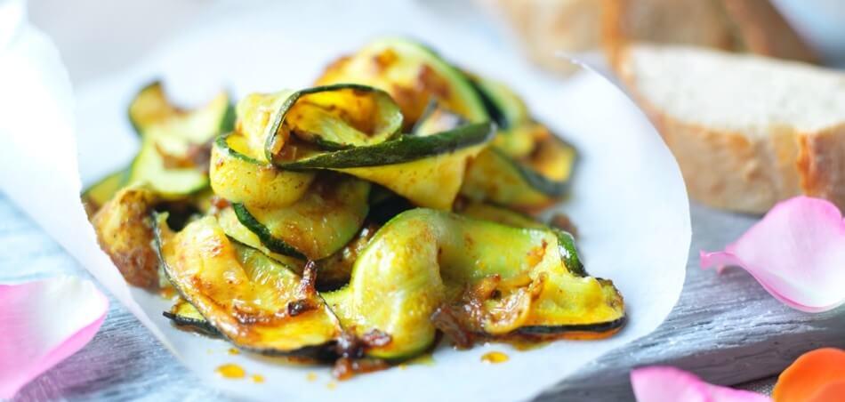 Arabische Gewürz-Zucchini