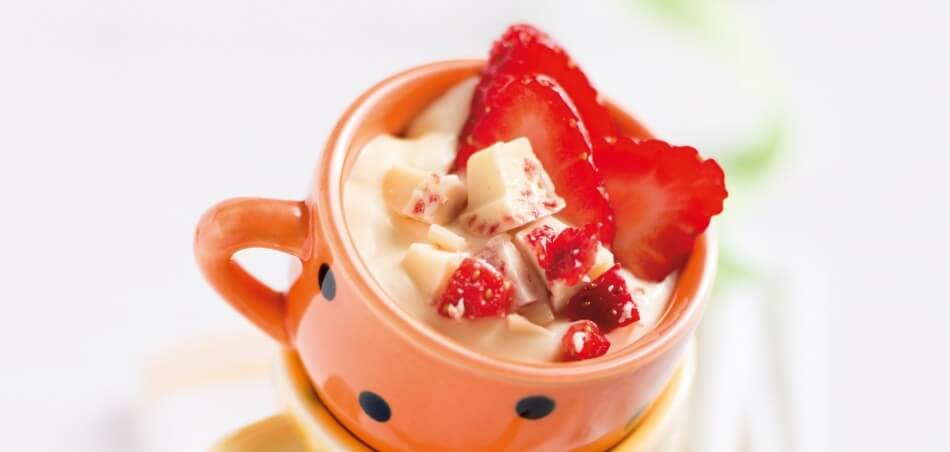 Erdbeer-Vanille-Creme