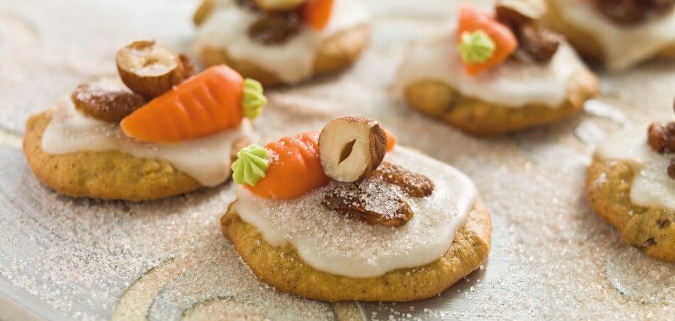 Apfel-Karotten Cookies