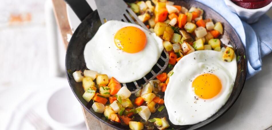 Pytt i panna – schwedisches Bauernfrühstück