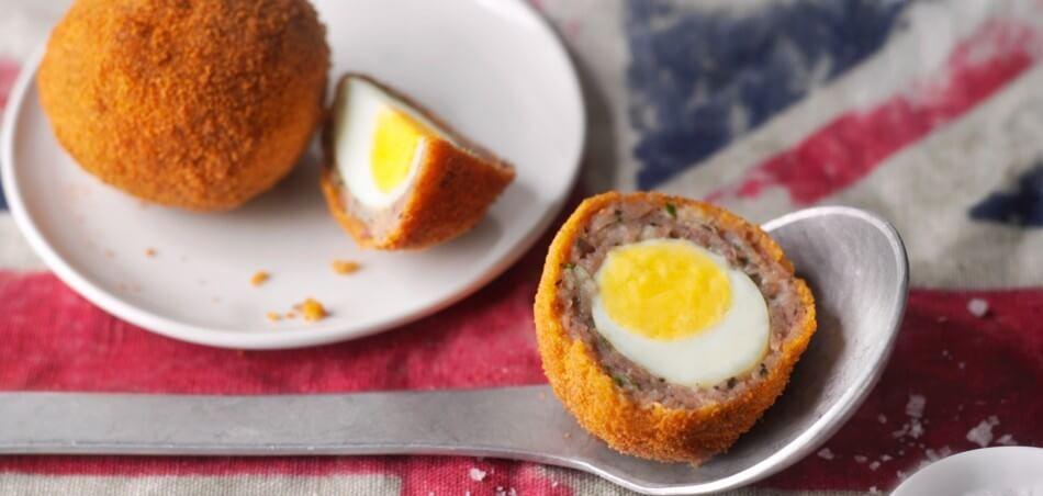 Schottische Eier