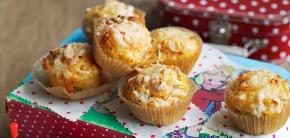 Mais-Schinken-Muffins
