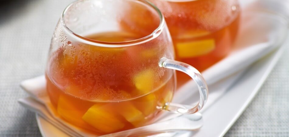 Ananas-Teepunsch mit Vanille