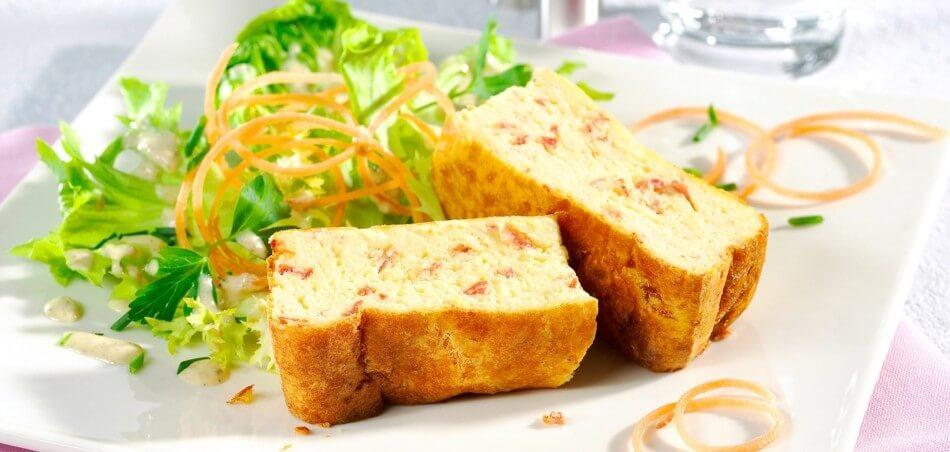 Käse-Schinken-Soufflé