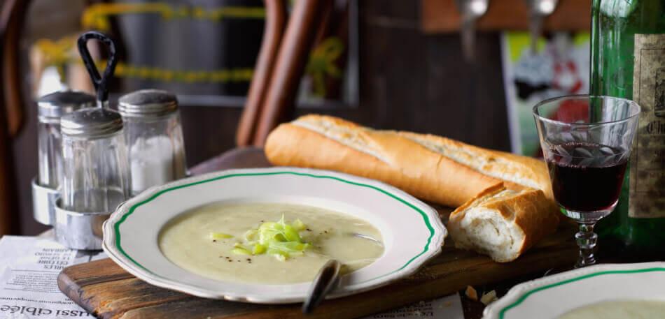 Kartoffel-Porree-Suppe