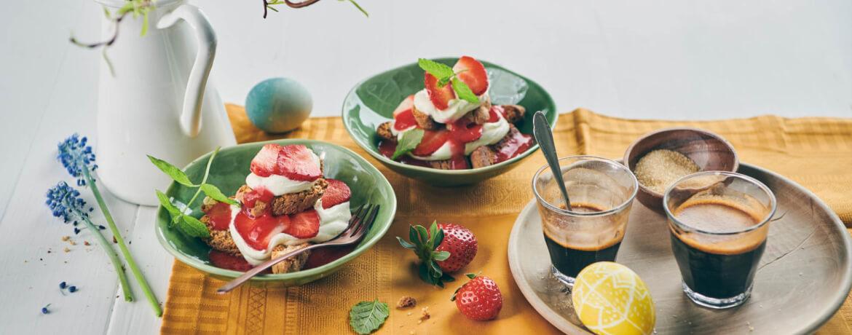 Erdbeer-Tiramisu mit Cantuccini