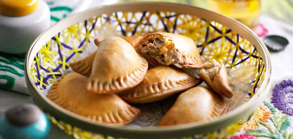 Thunfisch-Oliven-Empanadas