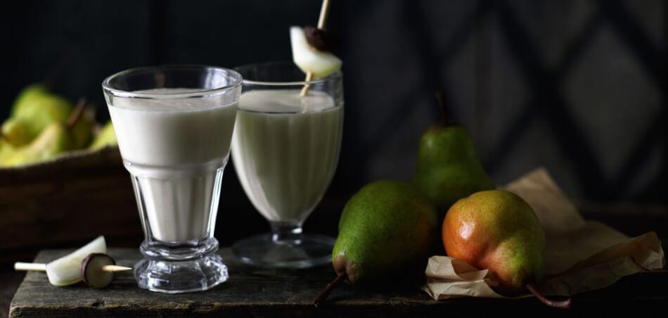 Birnen-Milch-Shake