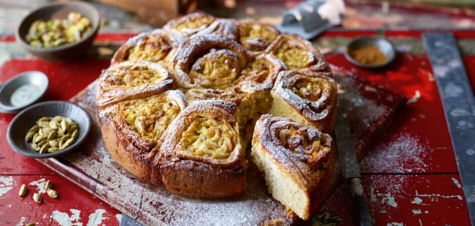 Ananas-Schneckenkuchen