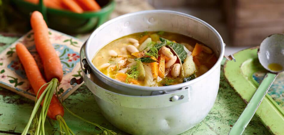 Fenchel-Kartoffel-Suppe