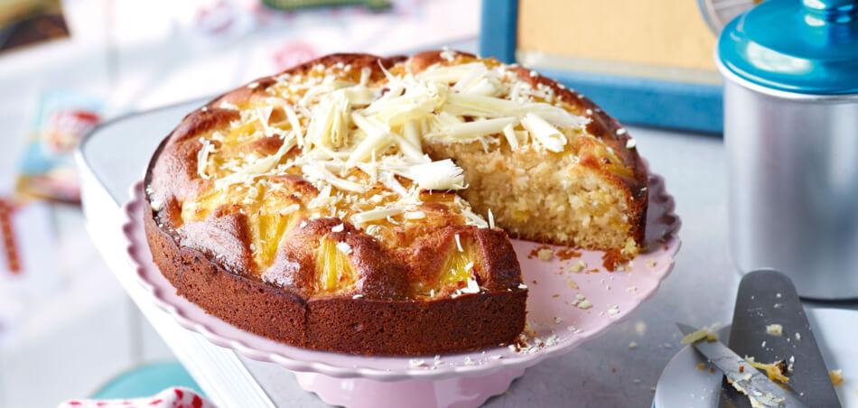 Ananas-Rum-Kuchen