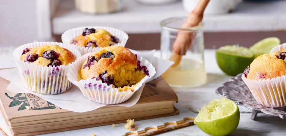 Heidelbeer-Joghurt-Muffins