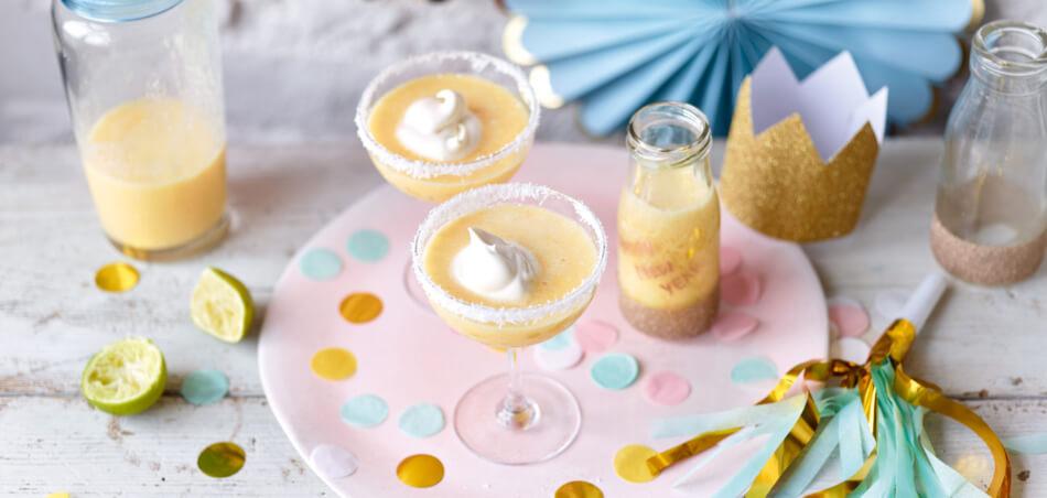 Orangen-Kokos-Shake
