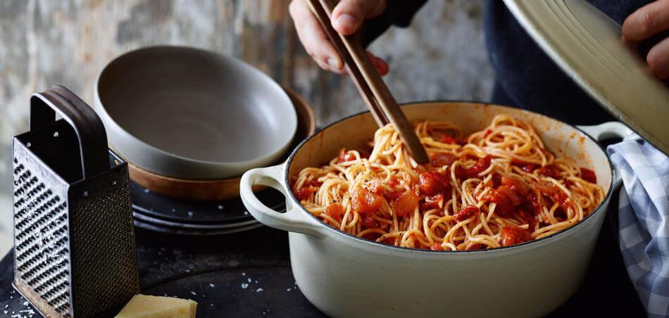 One-Pot-Spaghetti-Arrabiata