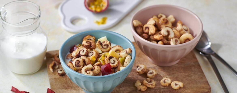 Mini-Zimtschnecken-Cereals