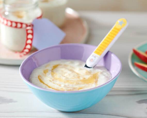 Grundrezept Milch-Getreide-Brei
