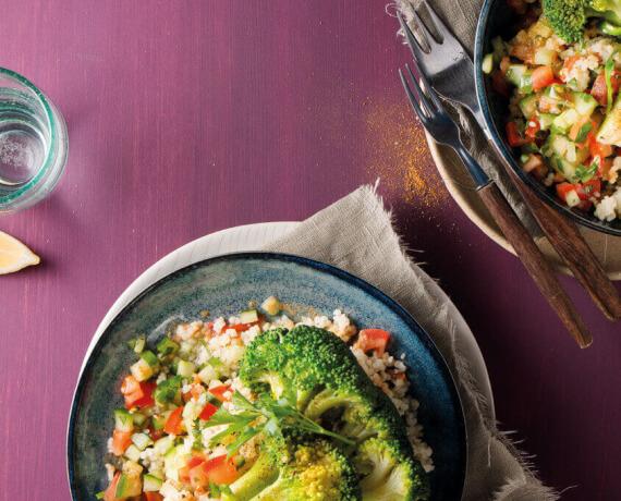 Couscoussalat mit Brokkoli