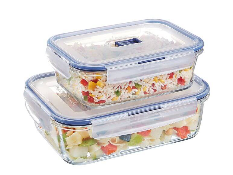 LUMINARC Set Pure Box Frischhaltedosen