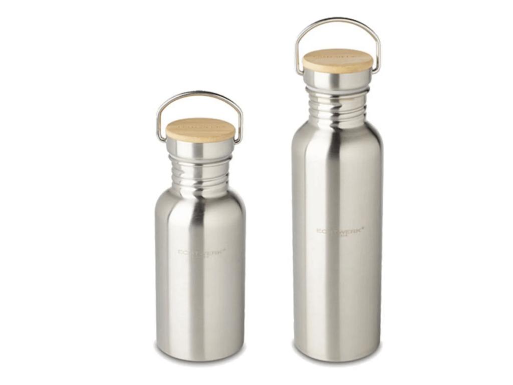 ECHTWERK Praktische Trinkflasche aus Edelstahl