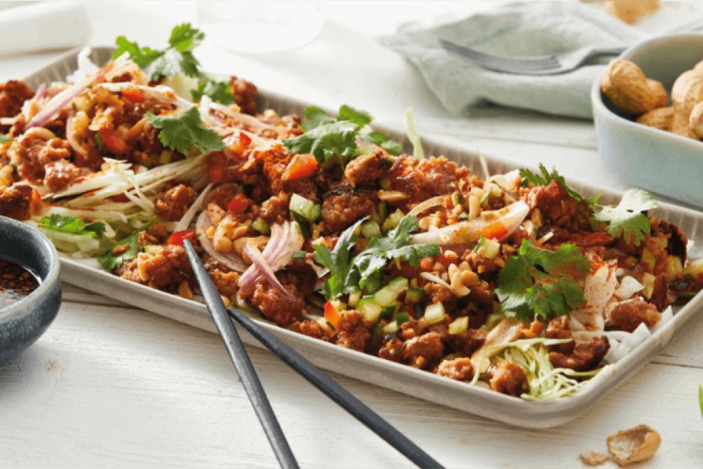 Thai-Salat mit Vemondo Hack